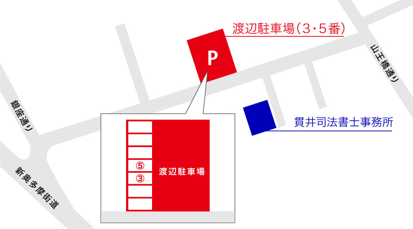貫井司法書士事務所地図